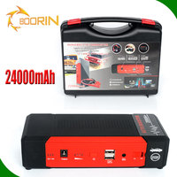 multi function jump starter 12v 24v cars gasoline diesel 1000a 2000a peak current 8000 mAh 16800 mAh car jump starter