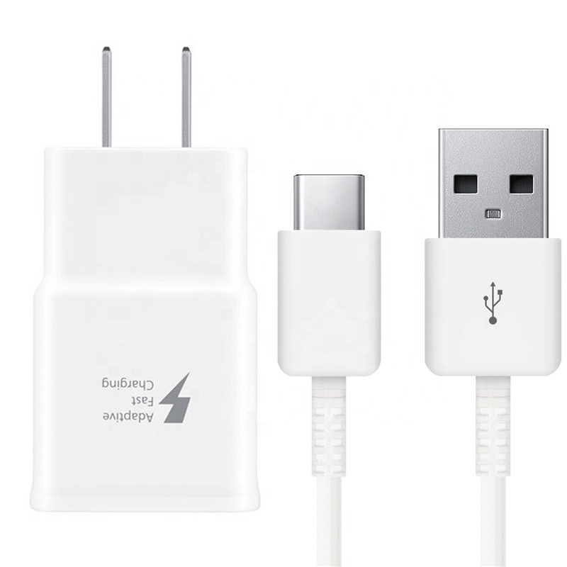 Original Fast Adaptive Wall Charger Type <strong>C</strong> Cable For S10 S8 S9 Plus Note 8 9 <strong>10</strong>