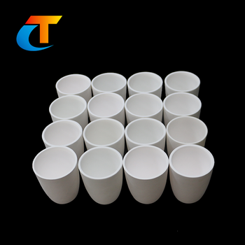 High Quality Refractory Crucible Furnace Fire Assay Ceramic Crucible