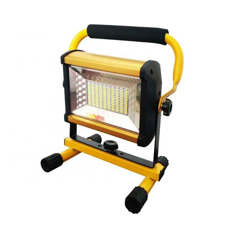 rechargeable portable 100w led working flood light