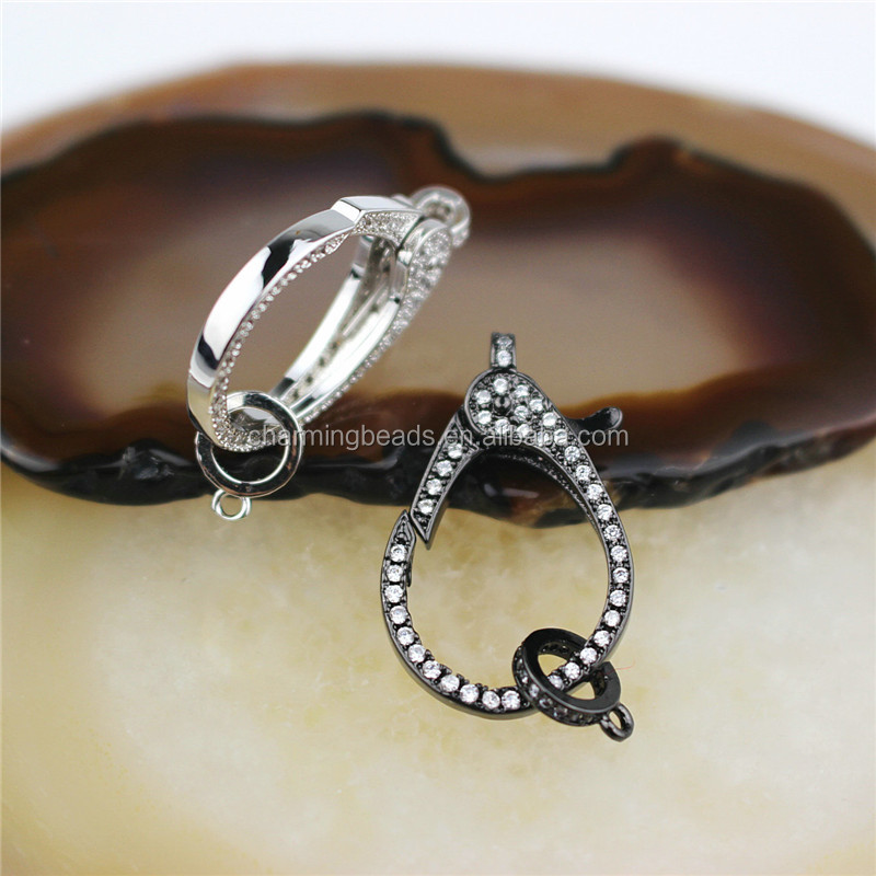 CH-LHP0337 Hot Sale!!Fashion clasp, clasp charm jewelry,diy necklace/earring jewelry accessories