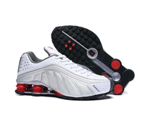 China Best Selling men Casual Shoes Air Shox Brand R4 Men's Sport Sneakers Running shoes
