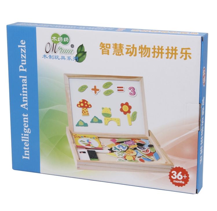 High Quality Drawing Board Educational  Wooden Puzzle for Children