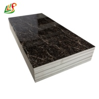 4*8 Feet PVC Marble Sheet UV Board Faux Laminate Stone Panel For Wall ceiling