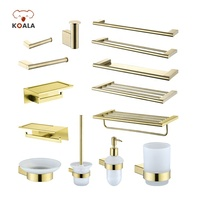 China Supplier Bathroom Lavatory Accessory 304 Stainless Steel Hardware Set