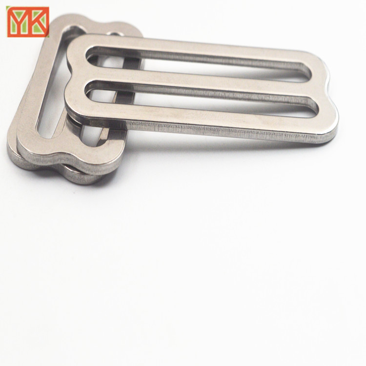 304#Stainless steel tri-glide buckle