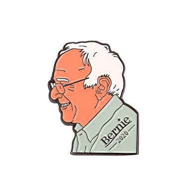 "lot of 3 Bernie Sanders 1/"" Soft Enamel Lapel Pin 2020 Presidential FREE SHIPPING"