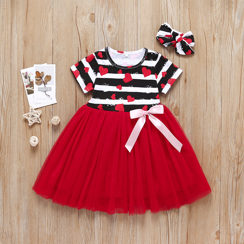 Summer baby girl frock design dress cotton linen usachildren dress ruffle sleeve baby girl dress