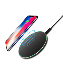 Original hight quality 10w fast Qi Wireless <strong>Charger</strong> quick Wireless Charging Pad <strong>car</strong> <strong>charger</strong> for Apple iphone samsung huawei