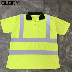 Safety Apparel Reflective Long/Short Sleeve Crew-neck T-shirt