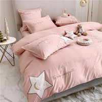 China Luxury Home Textile Bedding Fabrics Duvet Cover Bed Sheet Set