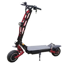 Chinese suppliers 8000w 11inch dual motor scooter electric scooter foldable for adult