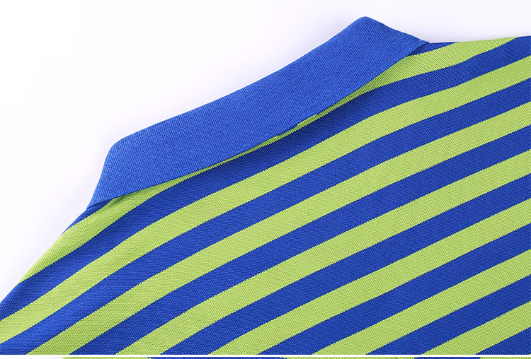 High Street Casualwear Spring Summer Male Apparel Plain Style Sleeveless O Neck Soft Touch Striped Mens Polo T Shirt