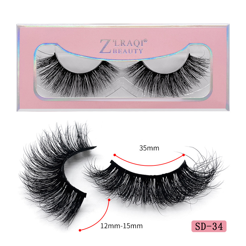 100% Real Human Hair LASH False Eyelashes with Custom Package FREE SAMPLE!!!
