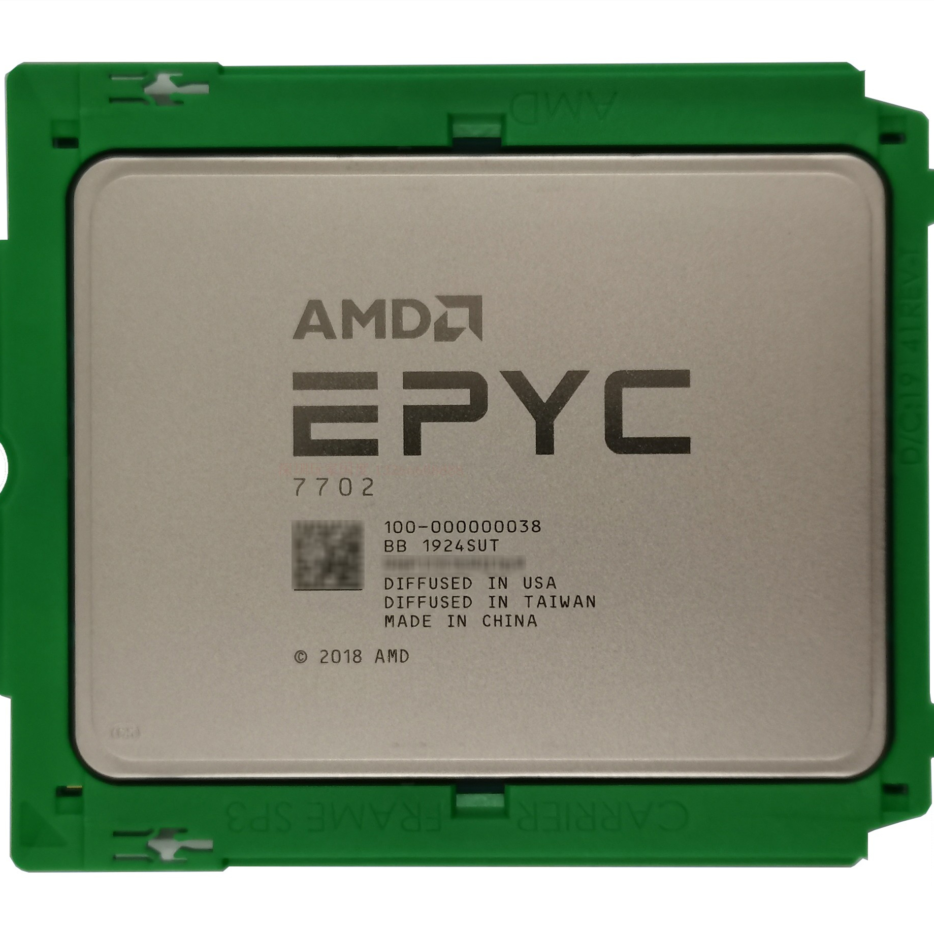 AMD EPYC 7702 Processor 100-000000038 2.0GHz,Brand new,Tray,<strong>P008</strong>