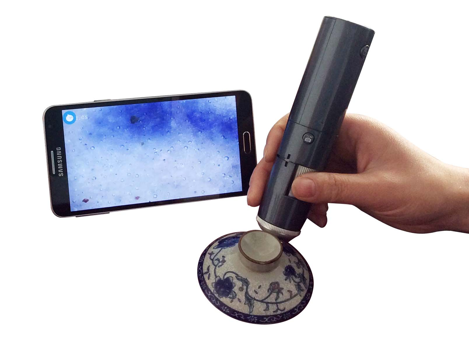 HD Portable Antique Detection Magnifier Wireless Access Mobile Tablet PC