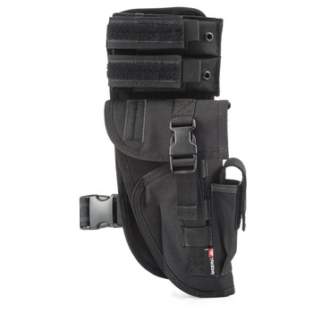 YAKEDA military adjustable tactical airsoft combat molle thigh rig pistol holster gun drop leg holster