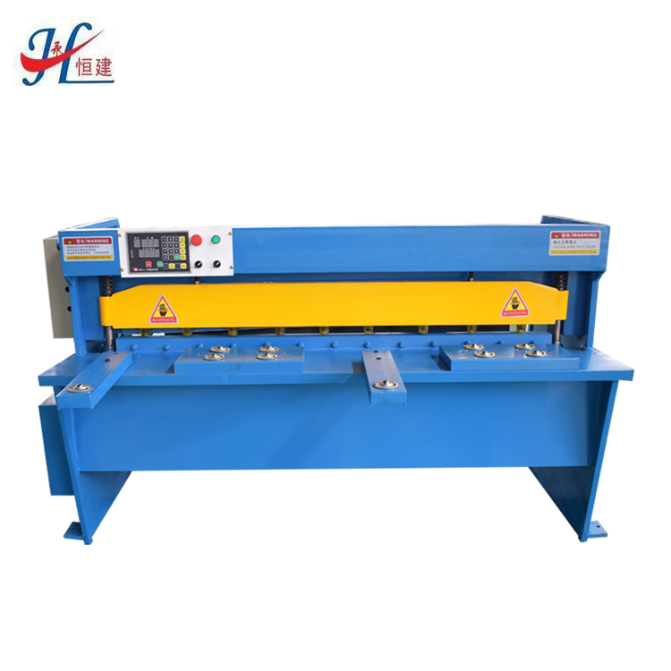 Hengjian brand cnc aluminum <strong>mechanical</strong> guillotine <strong>shearing</strong> <strong>machine</strong>