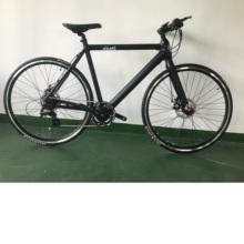 Germany design HYR2801 Gray single speed fixed electric <strong>bike</strong> ,U brake electric bicycle 2018