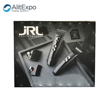Trade show display aluminum tension fabric backdrop