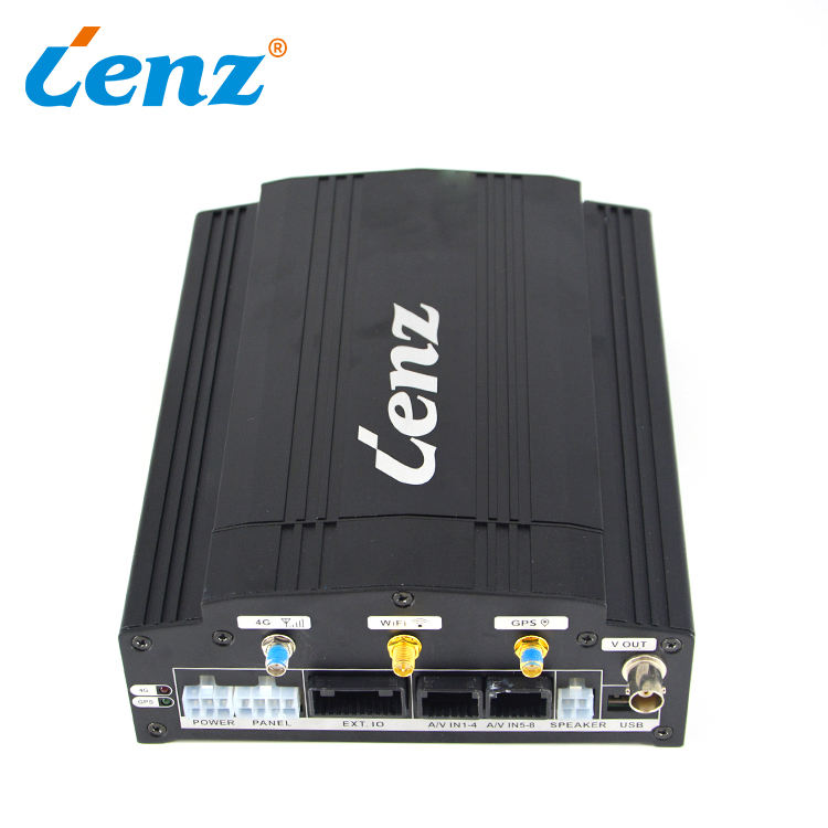 Van Truck CCTV System School Bus Mobile <strong>DVR</strong> GPS Set <strong>4</strong> <strong>Channel</strong> Taxi Car MDVR