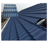 acrylic spanish stone coated metal roofing tiles/wholesale building materials