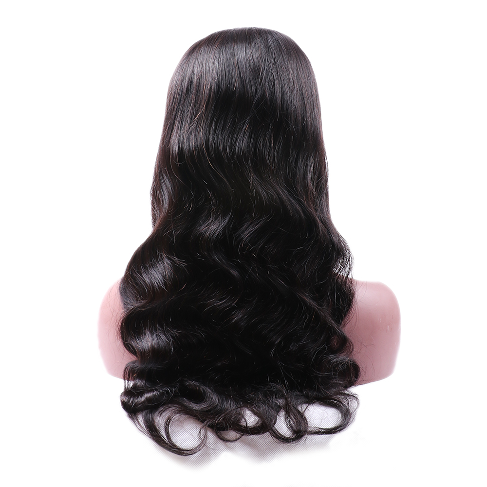 Wholesale Indian Lace Front Human Hair 4x4 Frontal Human Hair Wig 200% Density Loose Deep Human Hair for Sale