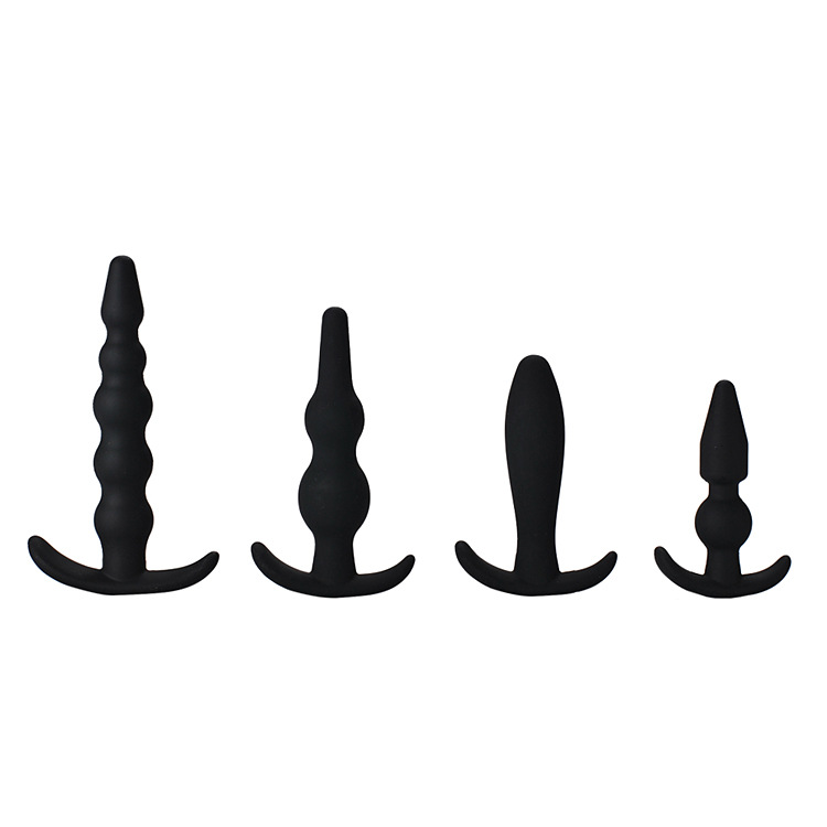 4 Pieces/set Silicone Butt Plug Sex Toys Anal Adult Products