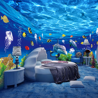 3d vinyl wall sticker decorative plastic wallpaper