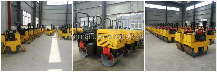 YFR-880 1ton road roller mini double drum compactor