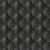 Black Quilted Diamond Faux Artificial Synthetic Pu Leather Fabric