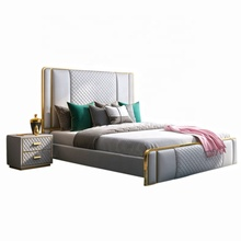 IMM European King Size Royal Bed Luxury Royal Bedroom <strong>Furniture</strong>