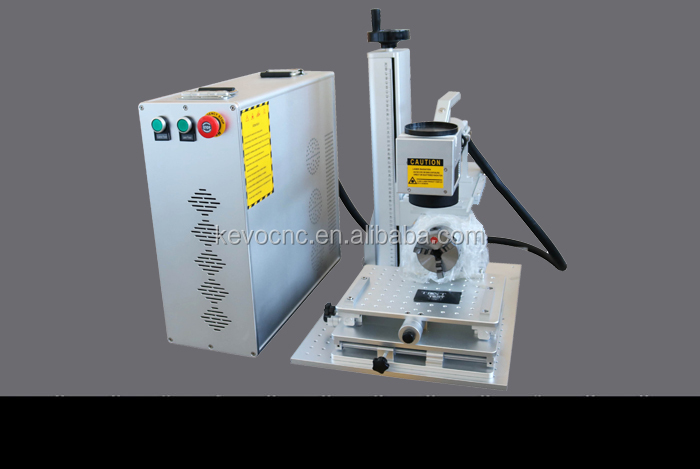 China JNKEVO 20W 30W 50W Portable Mini Handheld Optical Fiber Laser Marking Engraving Machine