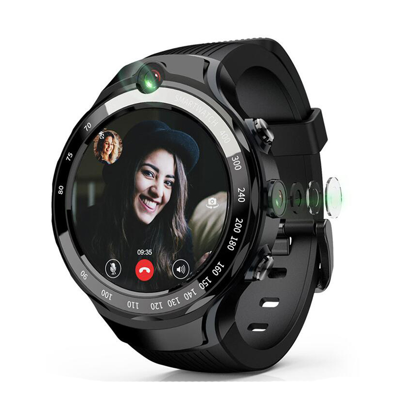 2020 Android Smart Watch Phone Heart Rate Monitor 4G Smart Watch SIM Card Wifi Smart Watch GPS with DUAL 2.0MP Camera