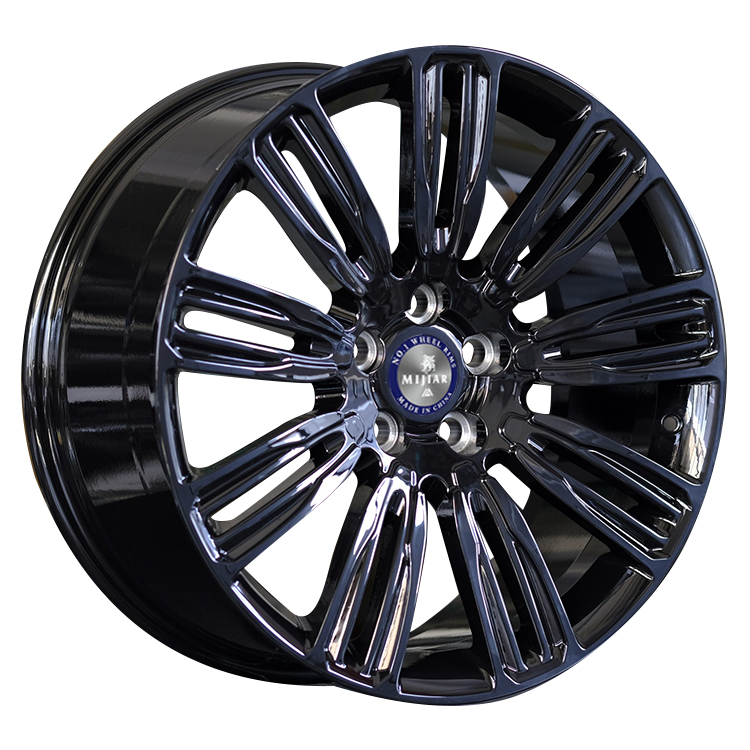 WR473 Factory Price Hot Sale Forged Aluminum Car <strong>Wheels</strong> Concave Bright Black 5x120 Alloy Rims 18 19 20 Inch