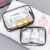 High quality Transparent Makeup Organizers Travel Bag Clear PVC Cosmetic Bag