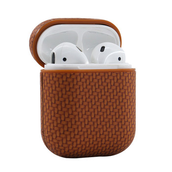 Support Wireless Charging Shockproof Skin TPU PC Universal For airpods 1 2 PC TPU Weaving earphone Case bag