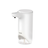 Plastic wall mount home appliance automatic foam soap dispenser V-370