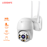 1080P 4MM Wifi CCTV Camera Outdoor Dome Security Surveillance Wireless IP Camera Colorful In Night