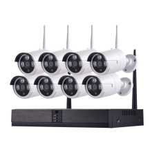 Outdoor indoor 8CH HD 1080P wifi bullet wireless home security <strong>camera</strong> system