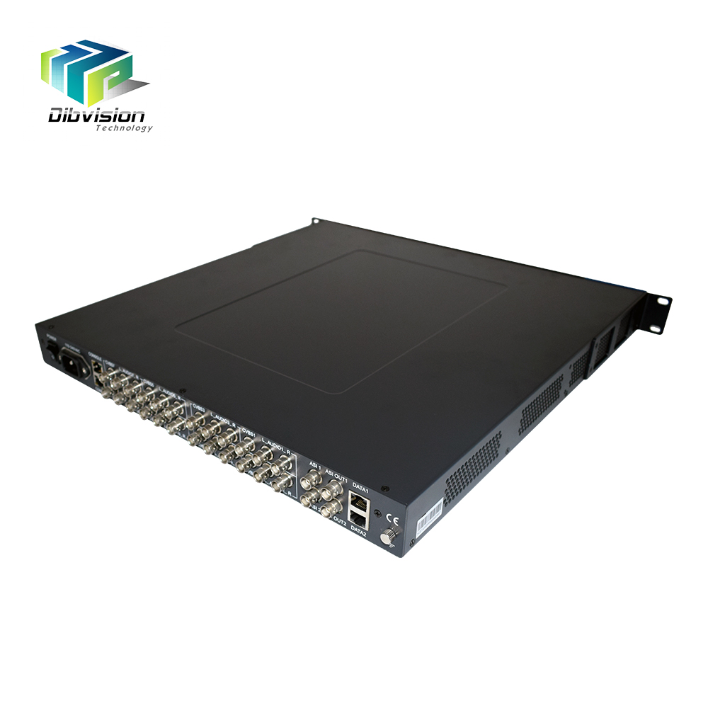8 <strong>Channel</strong> SDI Low latency Secam composite SD mpeg2/h.264 hardware encoder