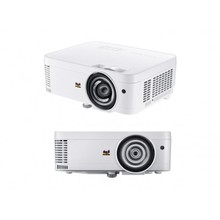 Smart 3500lumens DLP ultra thort throw laser <strong>projector</strong> 4K with all in one mini PC educational equipment