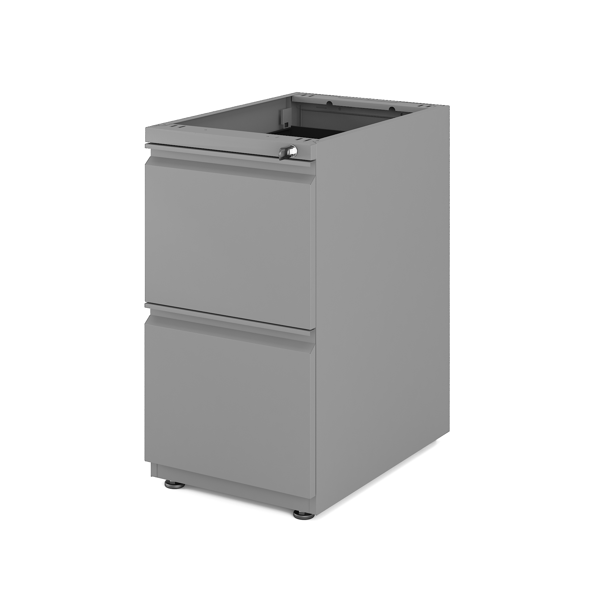 Hot Sale Office Filing Cabinet Fixed Pedestal With 2-Drawer Steel Filing Cabinet