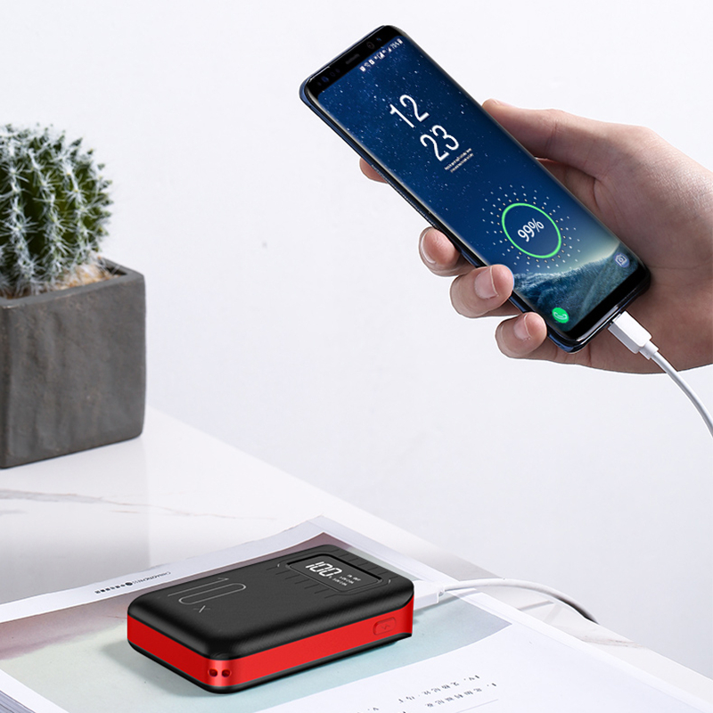 BHD cheap Dual USB portable usb 20000 smart power bank 20000mah