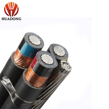 Huadong MV ABC Cable MV POWER CABLE XLPE AERIAL CABLE ABC 3X35MM2 11KV