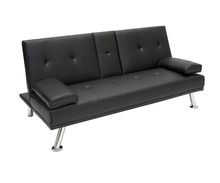 Modern Faux Leather Sofa Bed Fold Up And Down Hotel Sofa Recliner Couch