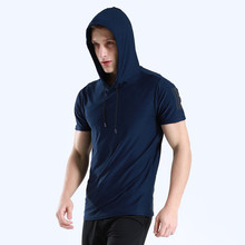 New Style Breathable Cotton Gymwear Sports Dry Fit T Shirts Activewear For <strong>Men</strong>