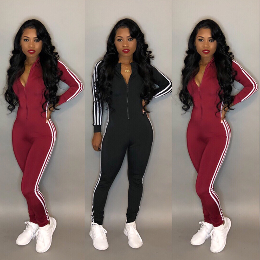 hot selling close-fitting hoodies siamese trousers for ladies