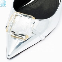 Wholesale 7-color crystal diamond rhinestone shoe accessories for footwear