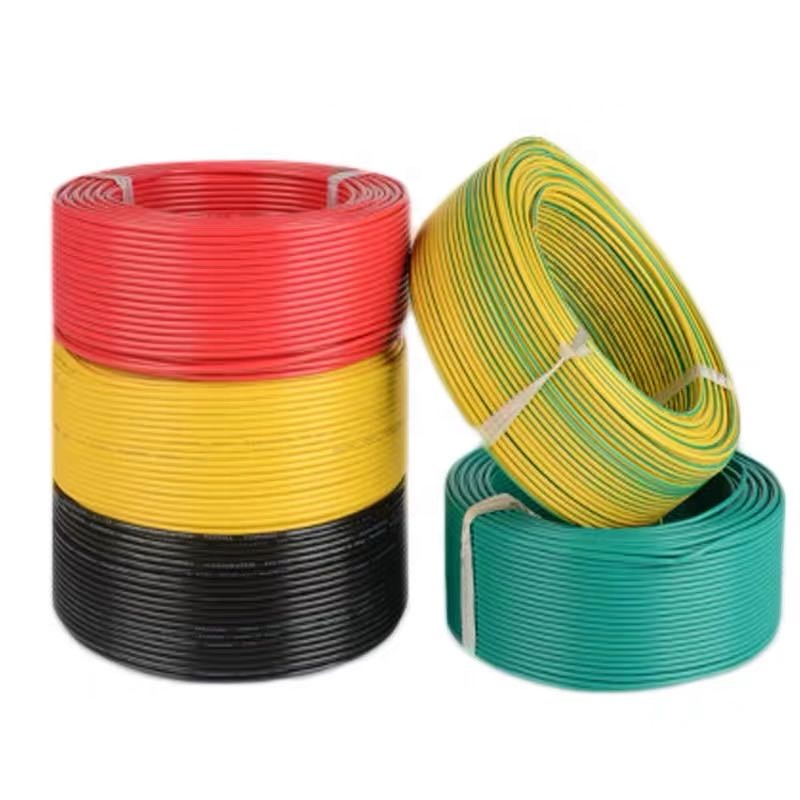 BVR 4mm2 Sq 12AWG Gauge Multi Strand Single Core Copper Insulation PVC Flexible Sheathed Price Power Electrical Wire <strong>Cable</strong>